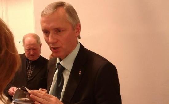 Андрей Лялин, экс-директор Центрального военно-морского музея