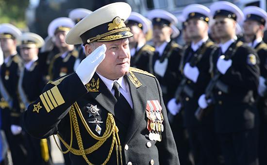 Бывший командующий Северным флотом адмирал Владимир Королев