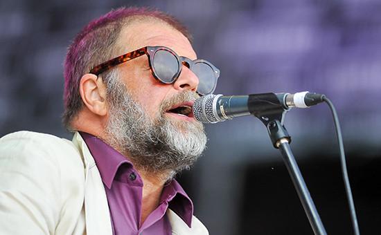 Рок-музыкант Борис Гребенщиков