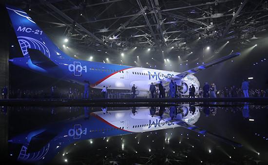 Новый российский ближне- исреднемагистральный лайнер МС-21