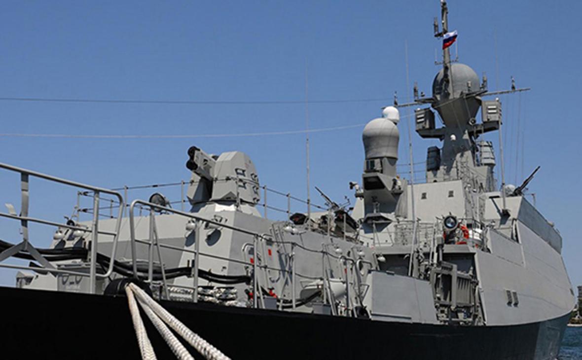 Новейший малый ракетный корабль «Грайворон»