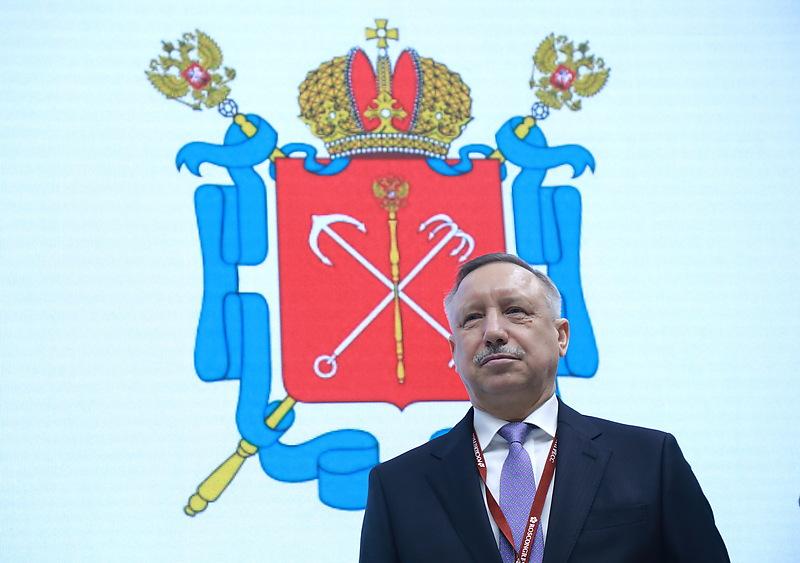 Временно исполняющий обязанности губернатора Петербурга Александр Беглов