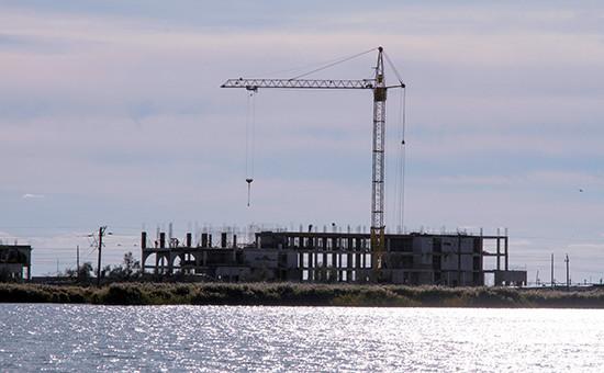 Строительство жилых домов в Крыму, 2011 год