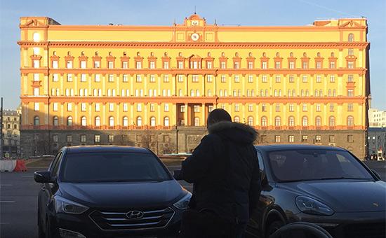 Здание ФСБ вМоскве