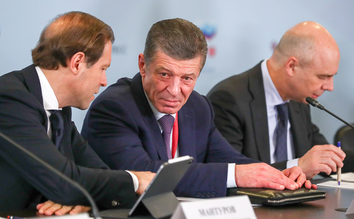Козак заявил о семикратном росте суммы контрактов на форуме в Сочи
