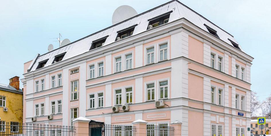 Здание посольства Австралии в столице