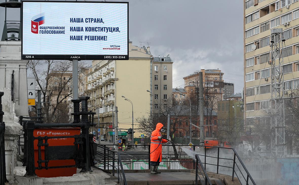 Кремль заявил о «прикидках» по дате голосования за поправки в Конституцию