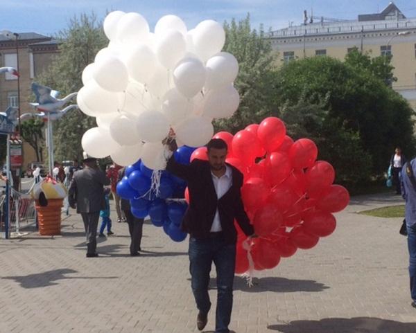 В Тюмени отметили День России