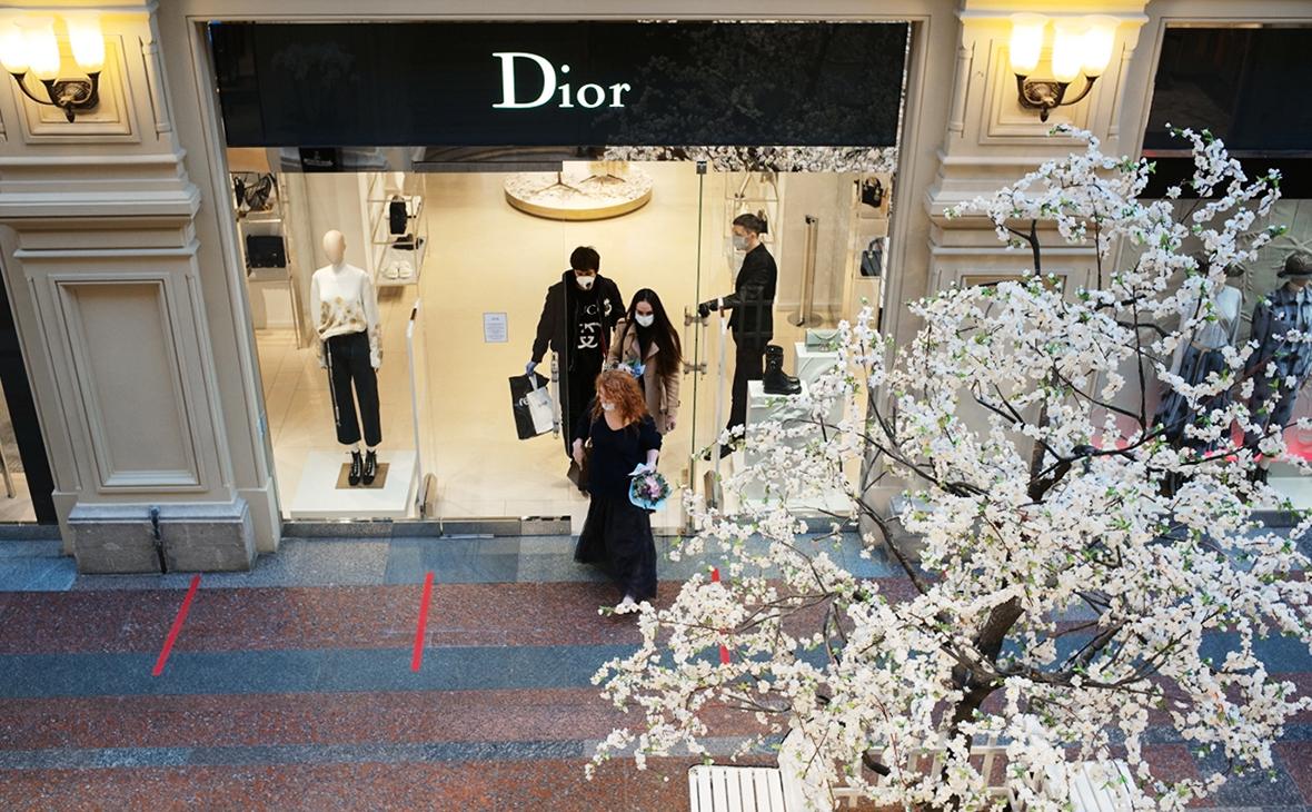 Магазин Dior в ГУМе