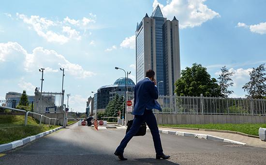 Офис «Газпрома» вМоскве
