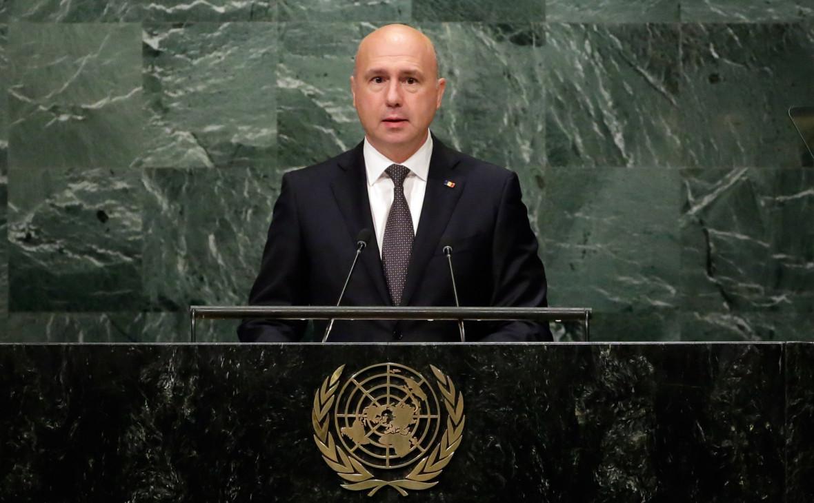 Ставший и.о. президента молдавский премьер распустил парламент