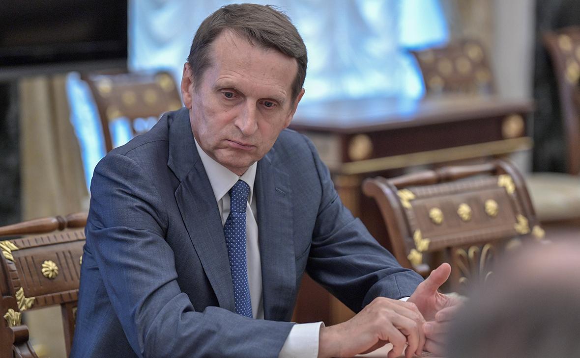 Глава СВР предупредил о революционном сценарии США для Молдавии