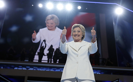 Хиллари Клинтон дала согласие на участие в президентских выборах от Демократической партии США