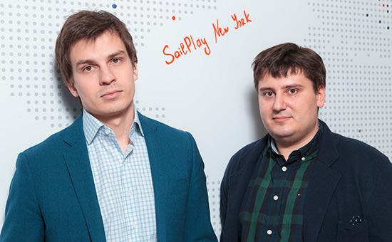 Леонид Шангин иЯков Филиппенко(справа)