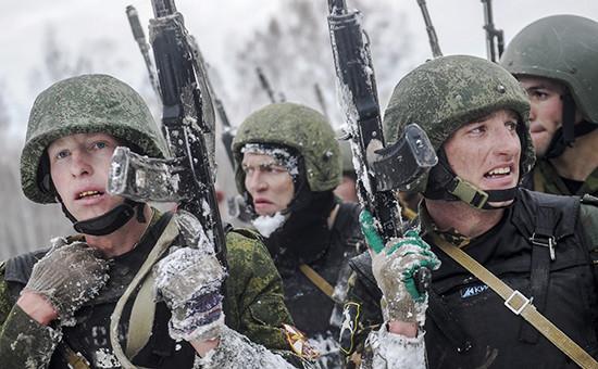 Военнослужащие внутренних войск МВД РФ
