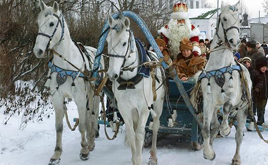 Главный Дед Мороз России—вВеликом Устюге