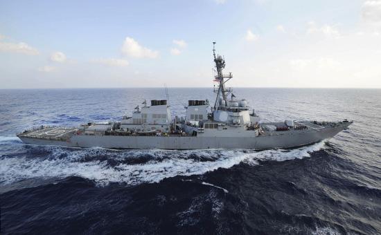 Эсминец ВМС США USS Mahan