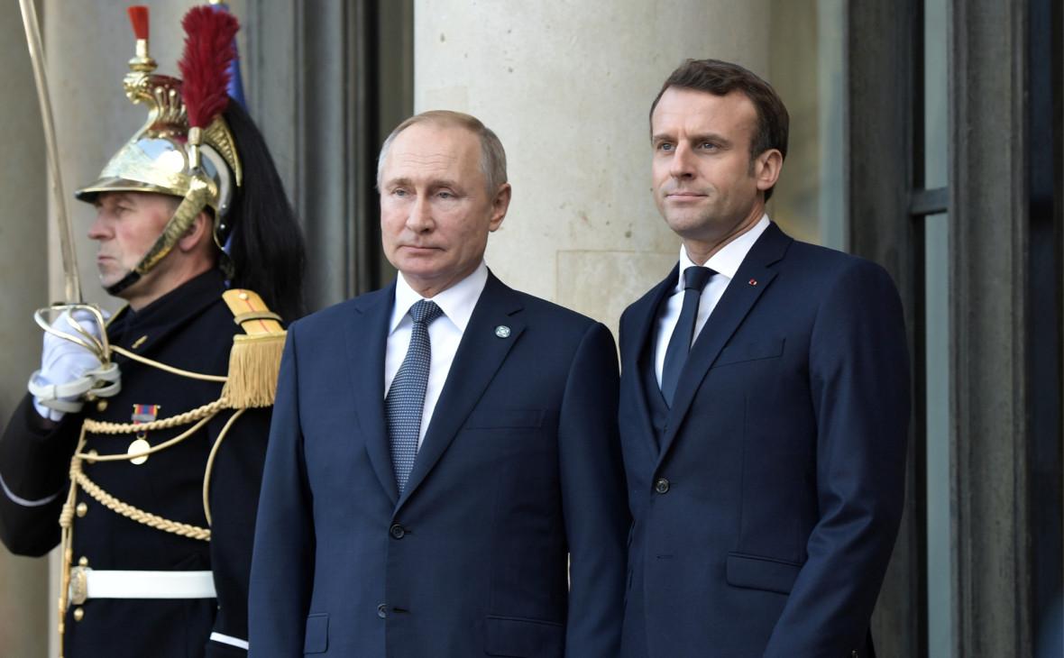 Путин назвал Макрону возможные риски из-за убийства иранского генерала