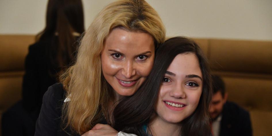 Фото: Этери Тутберидзе и Евгения Медведева (Фото: Global Look Press)