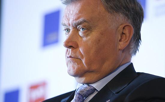 Кандидат в сенаторы Владимир Якунин