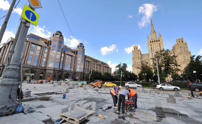 Благоустройство Москвы попрограмме «Моя улица»