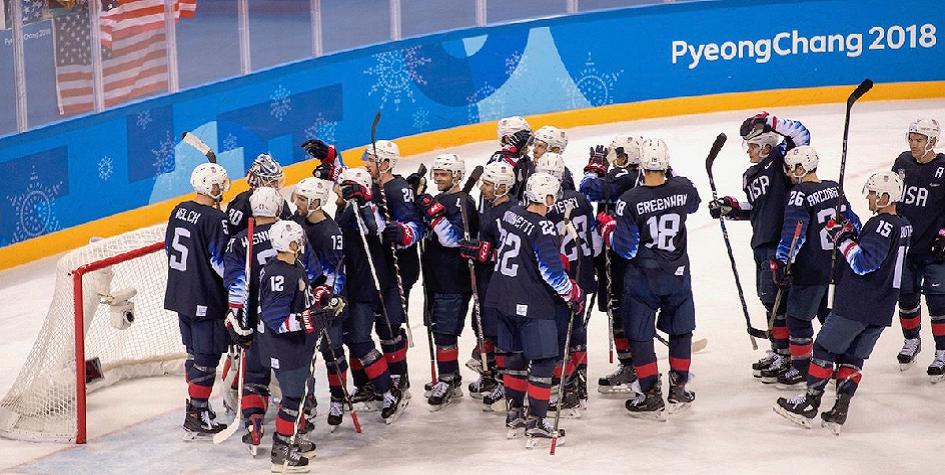 Американские хоккеисты вышли в четвертьфинал олимпийского турнира