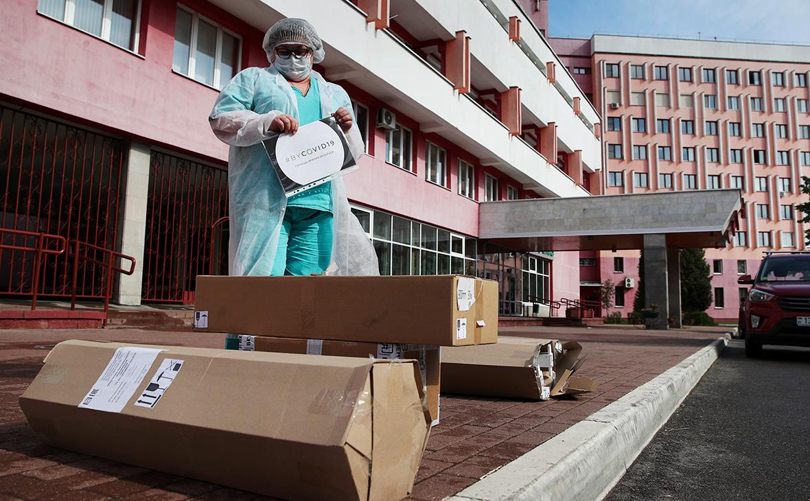 10-я клиническая больница в Минске, Белоруссия