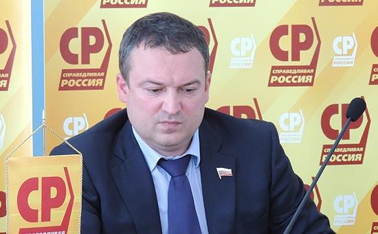 Депутат Госдумы от партии «Справедливая Россия» Роман Ванчугов