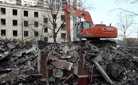 Эксперты при президенте раскритиковали законопроект о сносе пятиэтажек