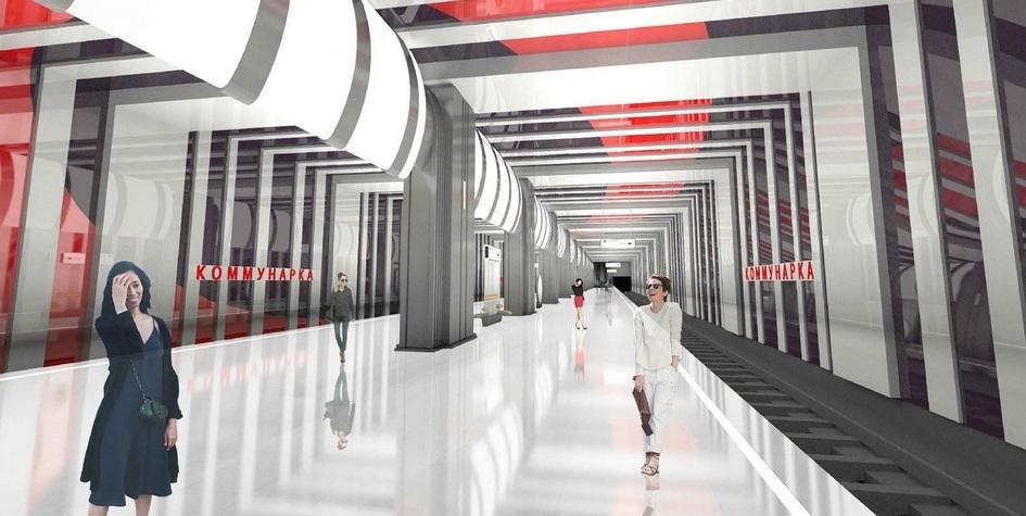 Вторую станцию Коммунарской линии построят в стиле супрематизм