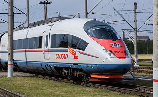 Поезд «Сапсан», июнь 2016 года