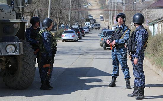 Сотрудники полиции Дагестана  Архивное фото