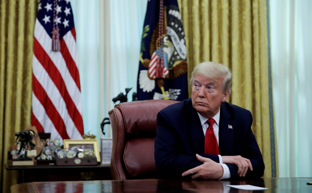 Трамп наложил вето на запрет применения силы против Ирана