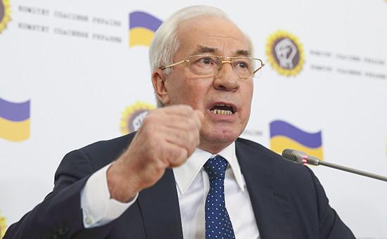 Бывший премьер Украины Николай Азаров