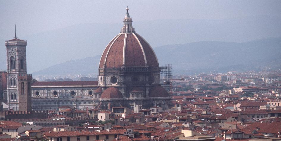 Вид Флоренции