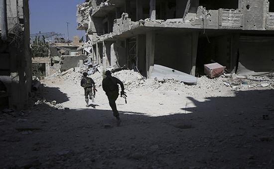 Сирийские военные. Архивное фото