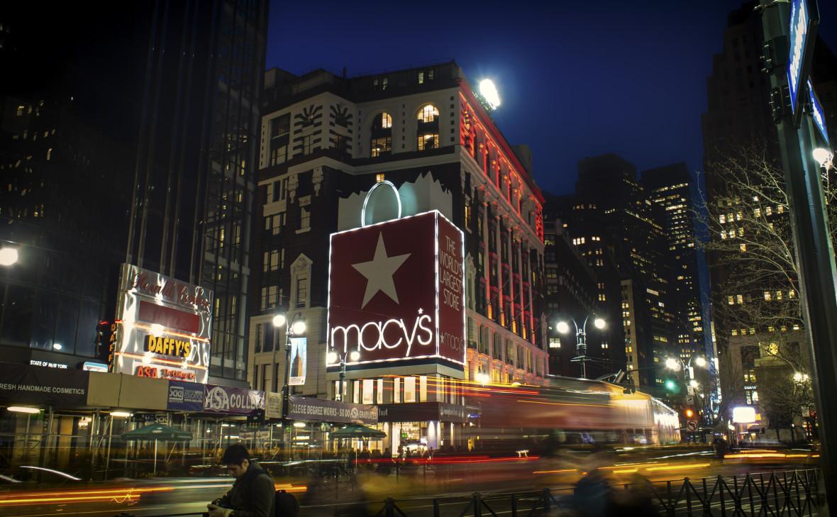 Магазин Macy's в Нью-Йорке, США