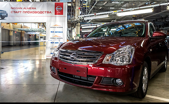 Nissan Almera наАвтоВАЗе (архивное фото)