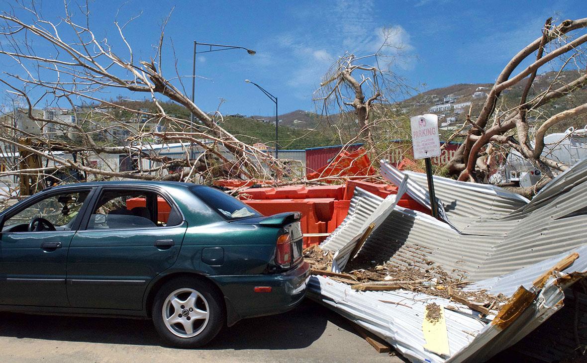 Последствия урагана «Ирма» на Виргинских островах, США. Сентябрь 2017 года