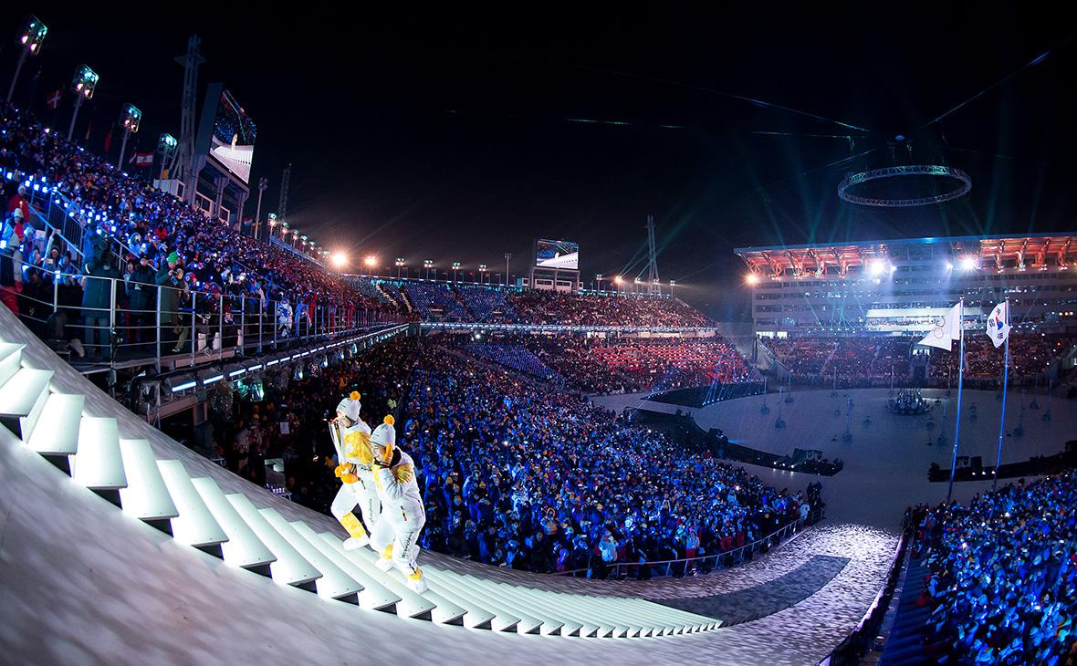 Церемония открытия Олимпийских игр в Пхёнчхане. 9 февраля 2018 года