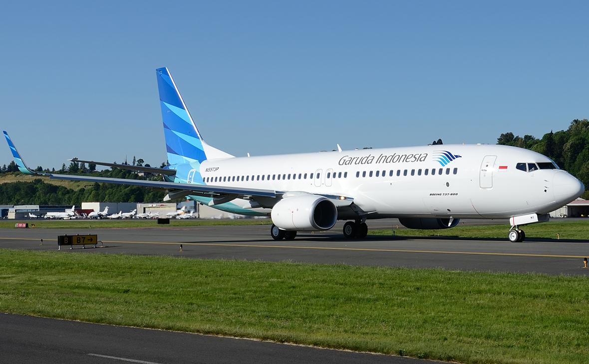 Boeing авиакомпании Garuda Indonesia