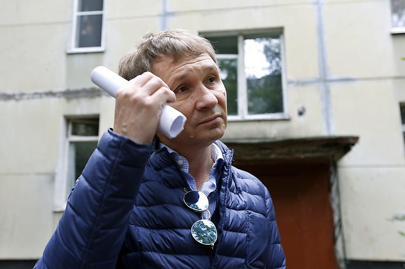 Генеральный директор строительной компании «Воин-В» Олег Глущенко