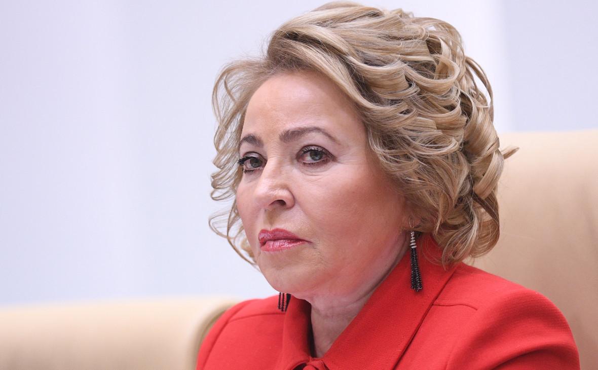 Матвиенко в 2003 году месяц отказывала Путину стать главой Петербурга