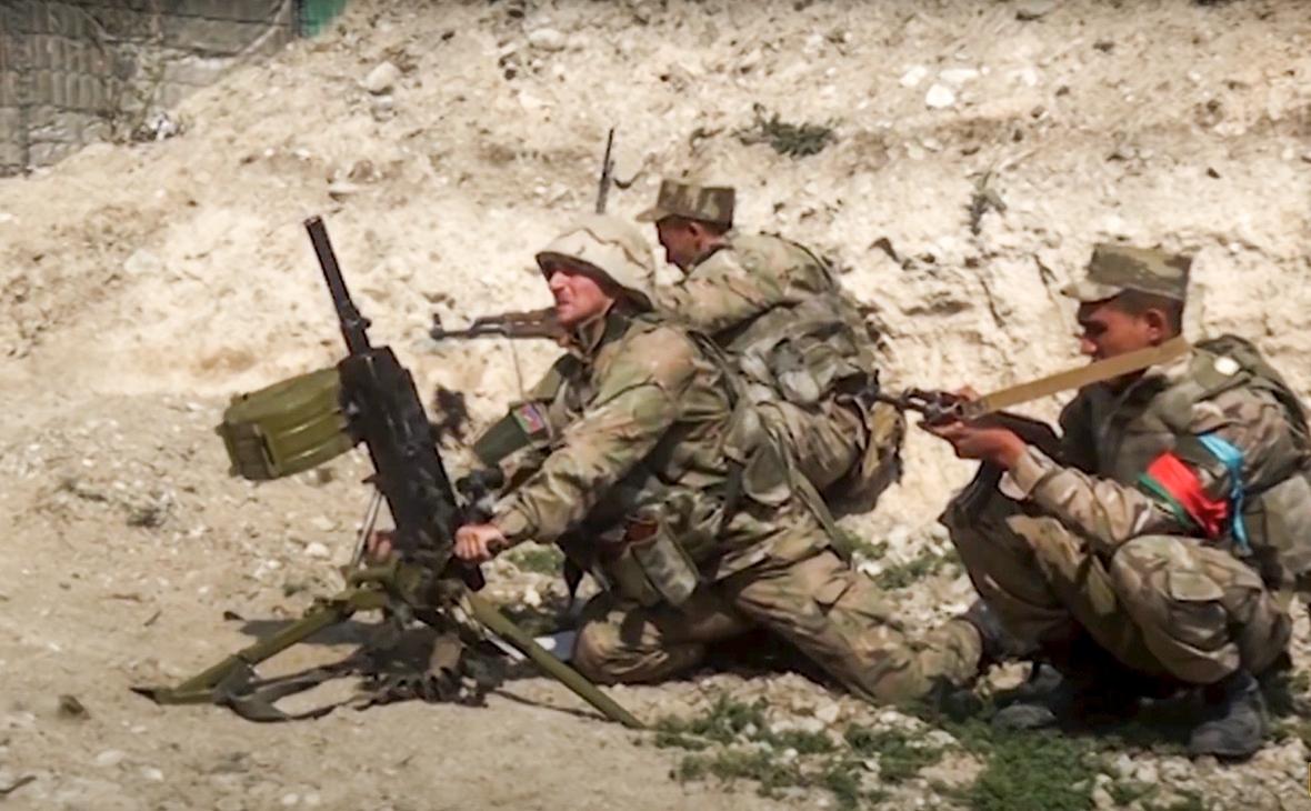 Фото:Министерство обороны Азербайджана / AP