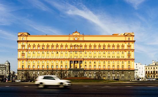 Вид на здание ФСБ России на Лубянской площади