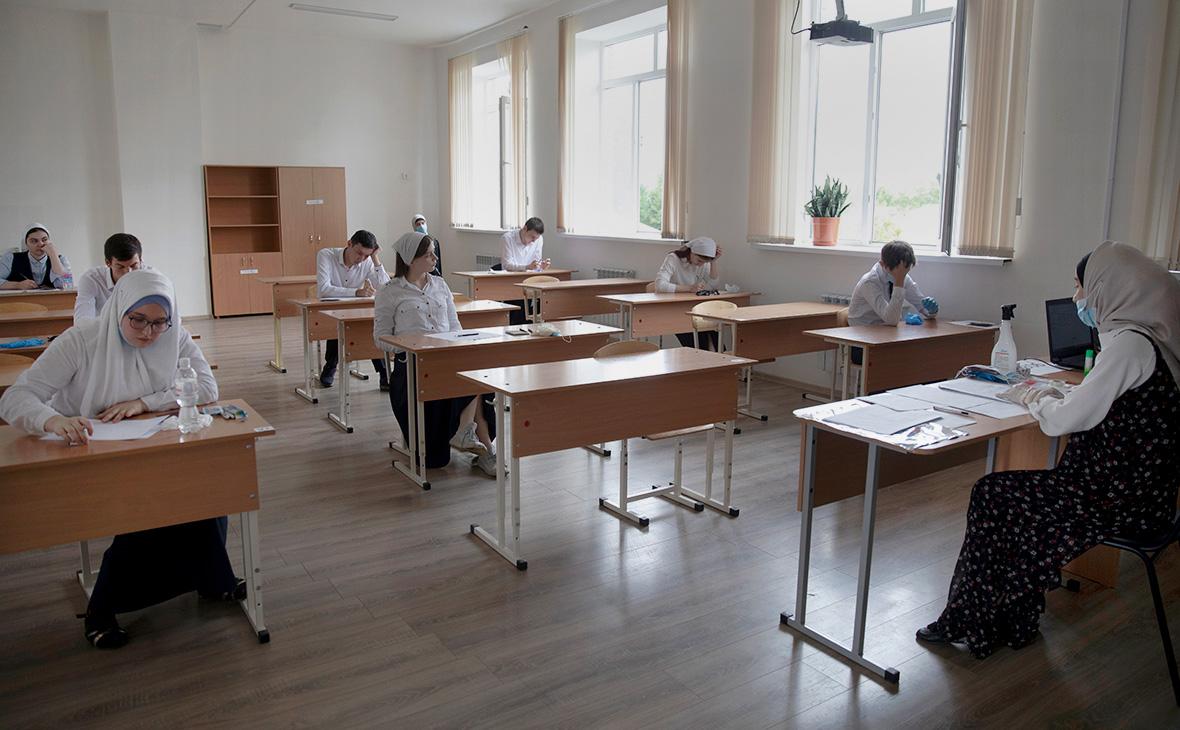ЕГЭ по математике в школе №48 в Грозном,Чеченская Республика
