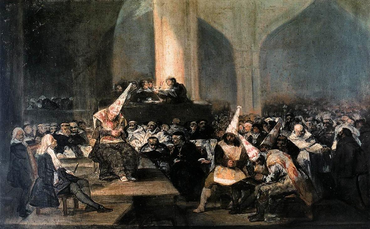 Фото: «Трибунал инквизиции», Франсиско Гойя