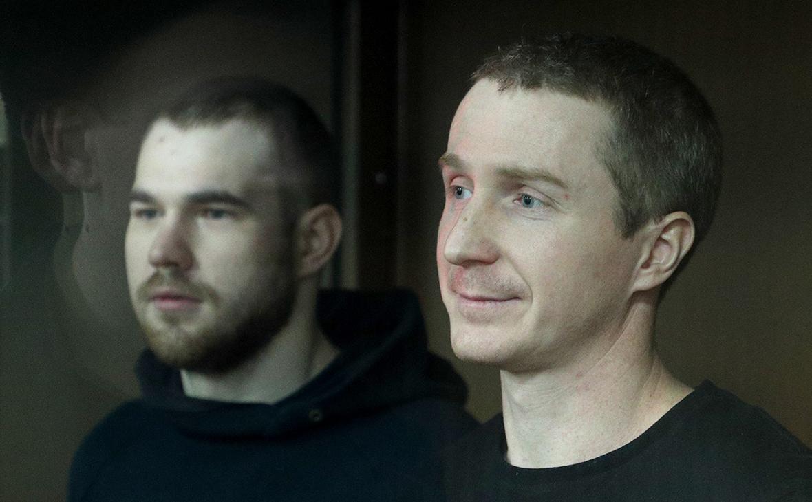 Максим Мартинцов и Егор Лесных