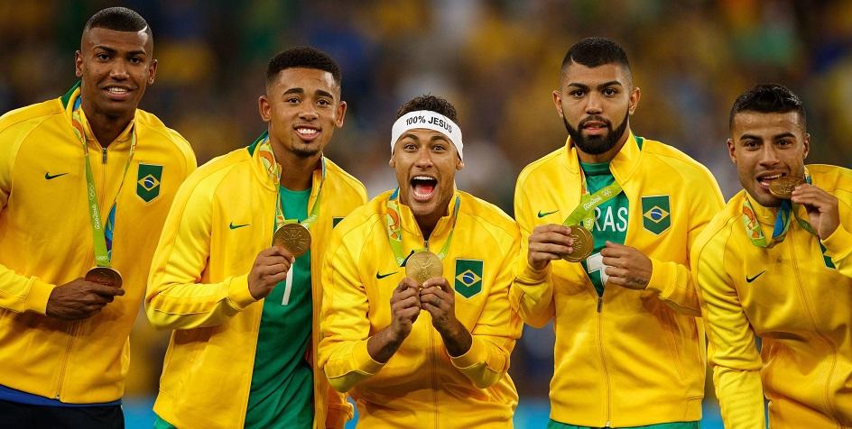 Мужская сборная Бразилии по футболу стала победителем Олимпиады-2016 в Рио-де-Жанейро