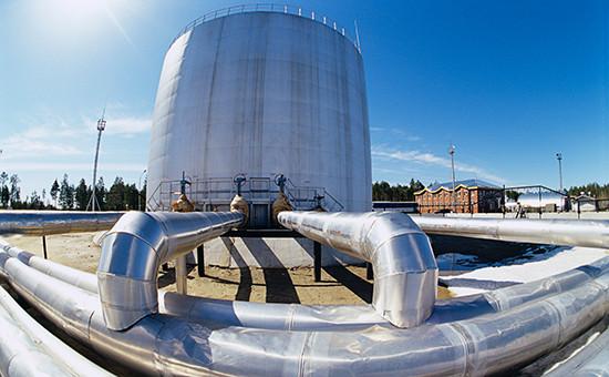 Хранилище длянефти ОАО«Сургутнефтегаз»